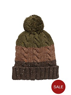 joe-browns-joe-browns-stripey-cable-knit-hat