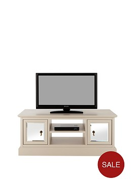 laurennbsp2-door-tv-unit-with-mirrors-cream-48-inch