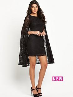 lavish-alice-lace-cape-mini-dress