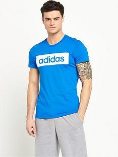 adidas-linear-logo-short-sleevenbsptee