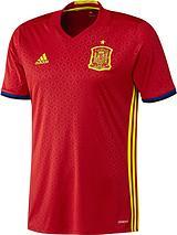 Spain Euro 2016 Short Sleeve Home Shirt