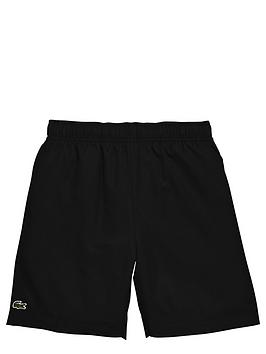 lacoste-poly-sport-short-black