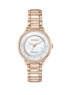citizen-citizen-eco-drive-039circle-of-time039-diamond-set-bracelet-ladies-watch