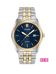 citizen-citizen-eco-drive-039corso039-two-tone-bracelet-men039s-watch
