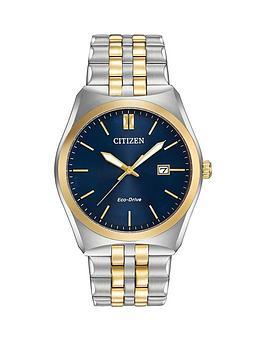 citizen-citizen-eco-drive-corso-two-tone-bracelet-mens-watch
