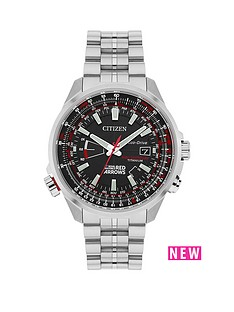 citizen-citizen-eco-drive-039red-arrows-limited-edition-world-perpetual-at039-titanium-bracelet-men039s-watch
