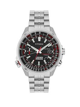 Citizen Citizen Eco-Drive 'Red Arrows Limited Edition World Perpetual A.T' Titanium Bracelet Men's Watch