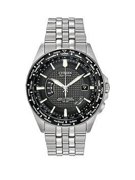 citizen-citizen-eco-drive-039world-perpetual-at039-radio-controlled-bracelet039s-men039s-watch