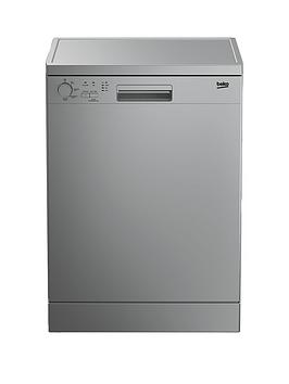 beko-dfc0421s-12-place-dishwasher-with-4-programmes-next-day-delivery-silver