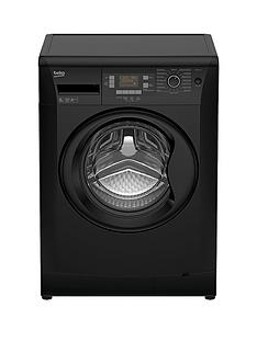 beko-wmb81241lb-8kgnbspload-1200-spin-washing-machine-next-day-delivery-black