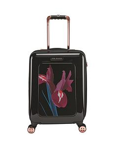 ted-baker-stencilled-stem-printed-4-wheel-cabin-case