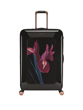 ted-baker-stencilled-stem-printed-4-wheel-large-case