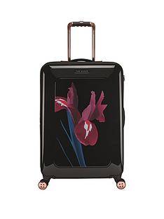 ted-baker-stencilled-stem-printed-4-wheel-medium-case