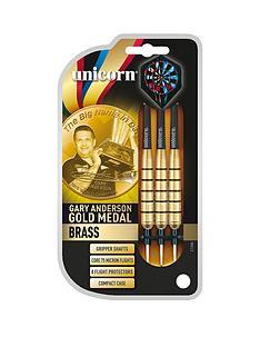 unicorn-gary-anderson-gold-medal-brass-dart-setnbsp