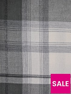 westary-check-woven-lined-eyelet-curtains