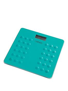 carmen-electronic-personal-scales-ndash-aqua