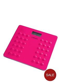 carmen-electronic-personal-scales-ndash-pink