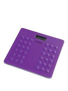 carmen-electronic-personal-scales-ndash-plum