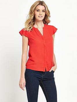 v-by-very-frill-sleeve-blouse