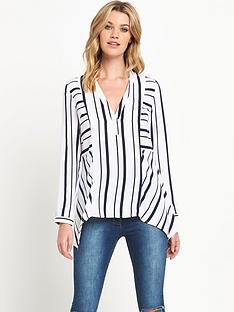 v-by-very-stripe-v-front-blouse