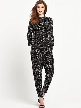V by Very Shirt Jumpsuit