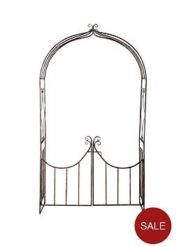 garden-arch-with-gate
