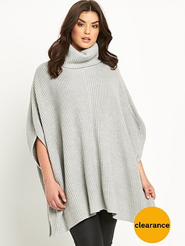 so-fabulous-roll-neck-poncho-jumpernbsp