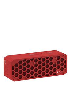 kitsound-hive-2-bluetooth-wireless-portable-stereo-speaker-red