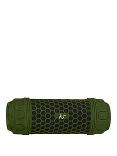 kitsound-hive-discovery-waterproof-bluetooth-speaker-with-built-in-power-bank-and-torch-green