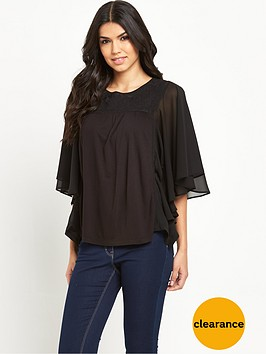 v-by-very-angel-frill-sleeve-jersey-top