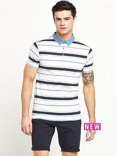 v-by-very-short-sleeve-stripe-jersey-polo-top