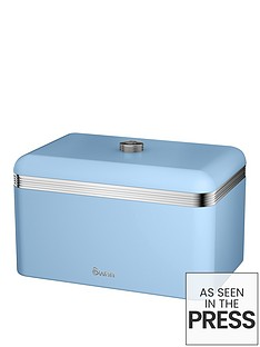 swan-retro-bread-bin-blue