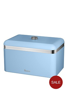 swan-swan-retro-bread-bin-blue