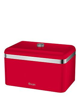 swan-retro-bread-bin-red