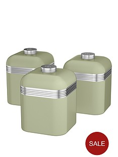 swan-swan-retro-set-of-3-storage-canisters-green