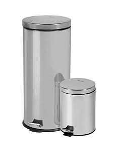 swan-30-litre-and-5-litre-bin-set