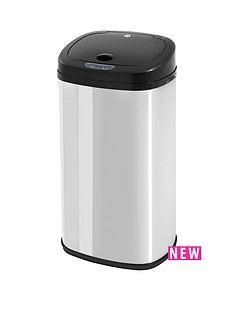 utility-42-litre-polished-square-sensor-bin