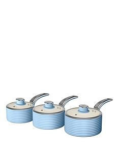 swan-swan-retro-set-of-3-saucepans-blue
