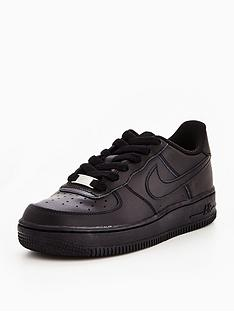nike-air-force-1-childrens-trainers-black