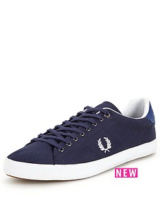 fred-perry-howells-twill-mens-plimsolls