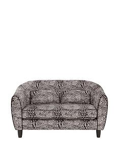 fearne-cotton-snakeskin-fabric-2-seater-tub-sofa