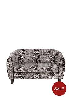 fearne-cotton-snakeskin-fabric-2-seater-tub-sofa