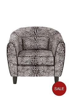 fearne-cotton-snakeskin-fabric-tub-armchair