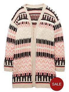 freespirit-girls-aztec-knitted-kimono