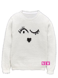 freespirit-girls-winkynbspface-eyelash-jumper