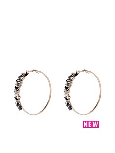river-island-encrusted-hoop-earrings