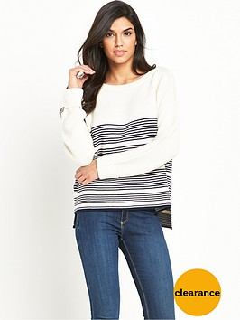 v-by-very-ripple-stitch-detail-stripe-jumper
