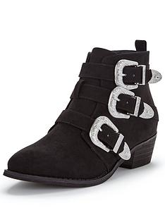 shoe-box-vine-triple-buckle-western-detail-ankle-boot
