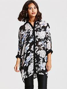 girls-on-film-girls-on-film-blue-floral-oversized-shirt