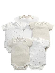 mamas-papas-5pk-sand-bodysuits